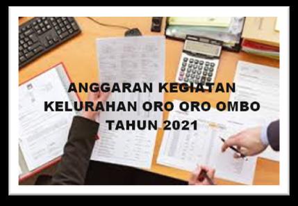 ANGGARAN TAHUN 2021