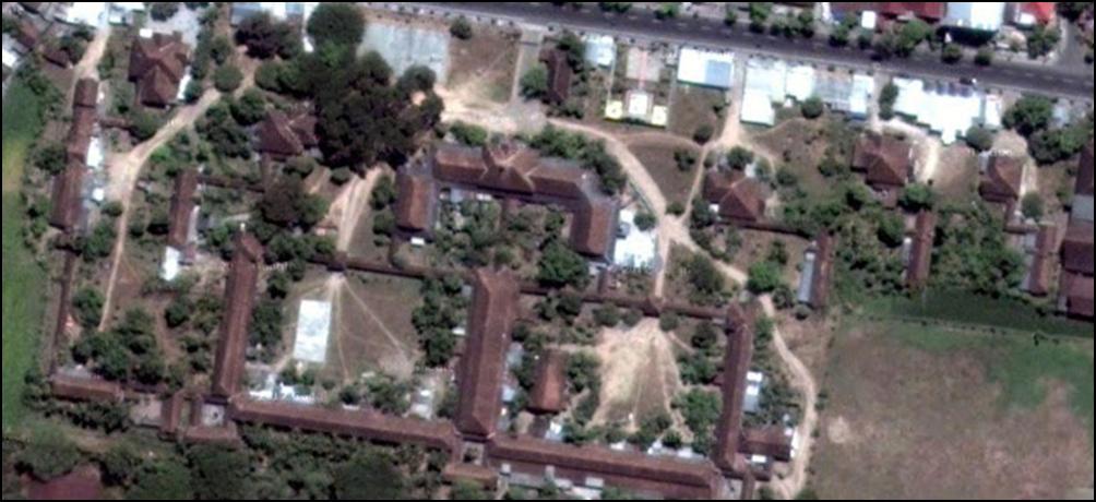 Kompleks Bosbw yang sangat luas (sumber Googlemap)